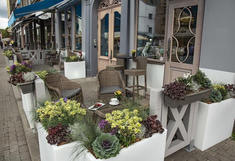 Relais Le Chevalier, Riga, Terrasse/Patio