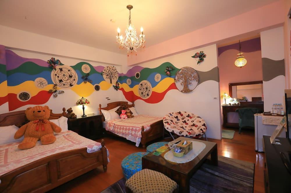 Design Quadruple Room - Children's Theme Room