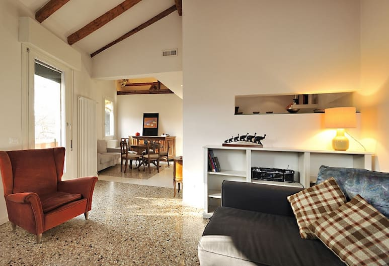 Venice Rialto Apartment With Balcony, Venetsia, Huoneisto, 1 makuuhuone, Parveke (check-in location Santa Croce 515), Huone