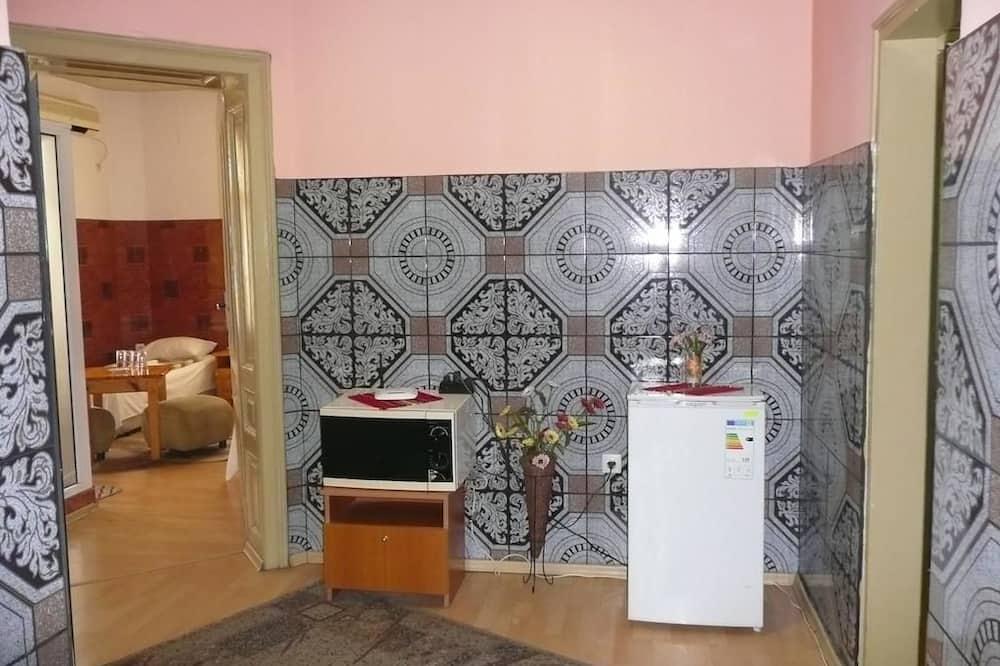 Standard szoba két külön ággyal - Nappali rész