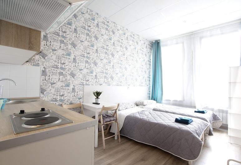 Отель «Вариант N17», Санкт-Петербург, Стандартный двухместный номер с 1 или 2 кроватями, Номер