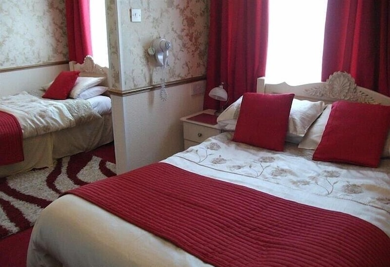 Brema Hotel, Blackpool, Guest Room