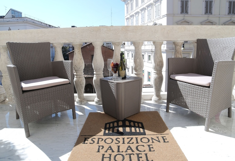 Esposizione Palace Hotel, Rome, Suite, Balcony, City View, Balcony