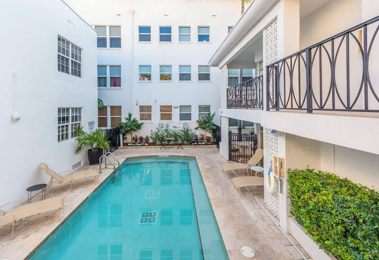 The Fountain Vacation Rentals, Miami Beach, Buitenzwembad