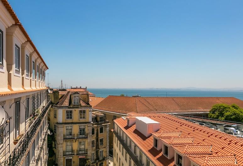 Almaria Edifício da Corte, Lissabon, Deluxe-Apartment, 1 Schlafzimmer, Ausblick vom Zimmer