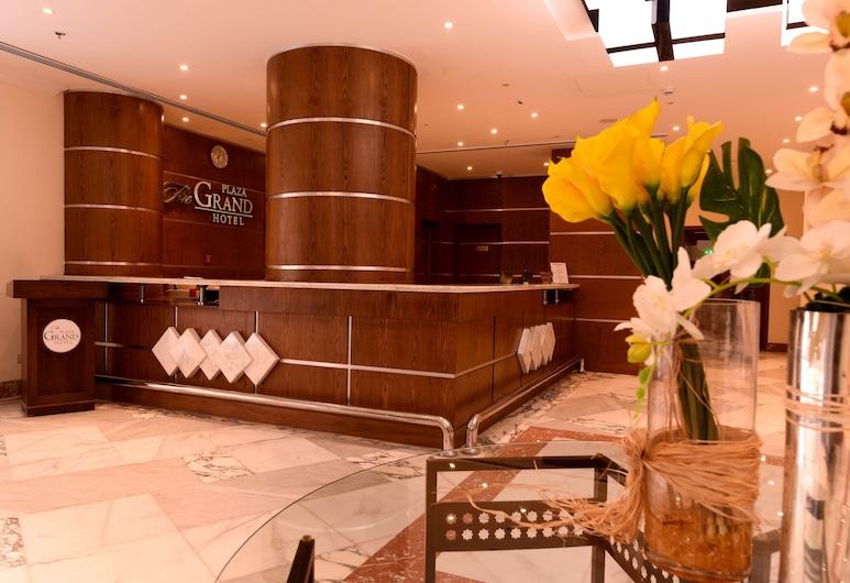 The Grand Plaza Hotel Smouha, Alexandria, Recepcja
