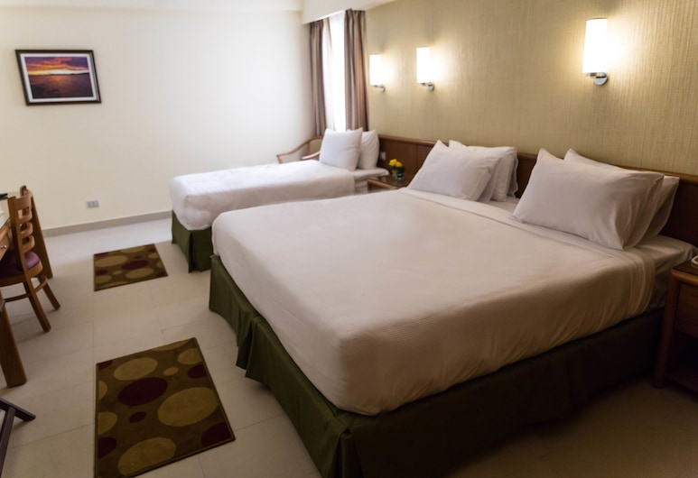 索莫哈大廣場飯店, 亞歷山德利亞, 家庭客房, 客房