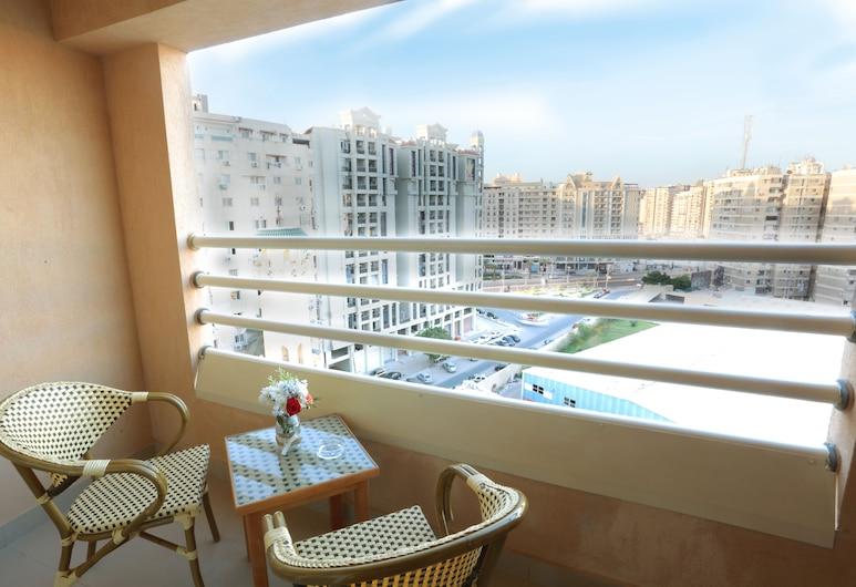 The Grand Plaza Hotel Smouha, Alexandria, Superior dubbelrum, Balkong
