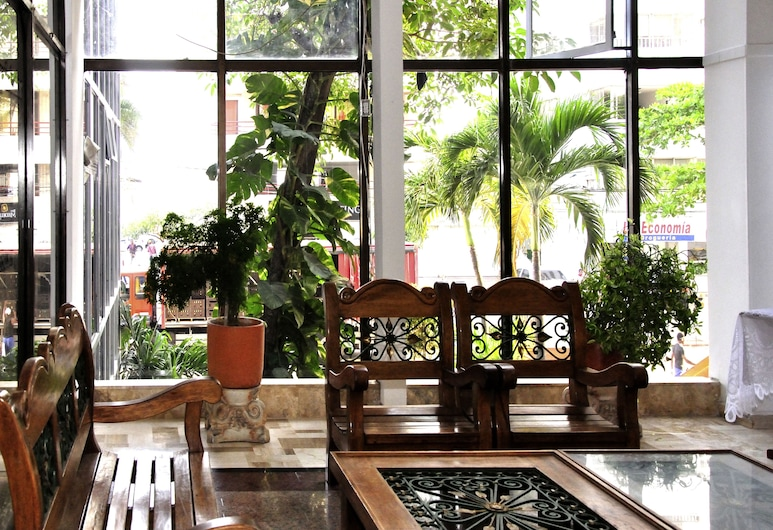 Apartamentos Frente al Mar Conquistador, Cartagena, אזור ישיבה בלובי