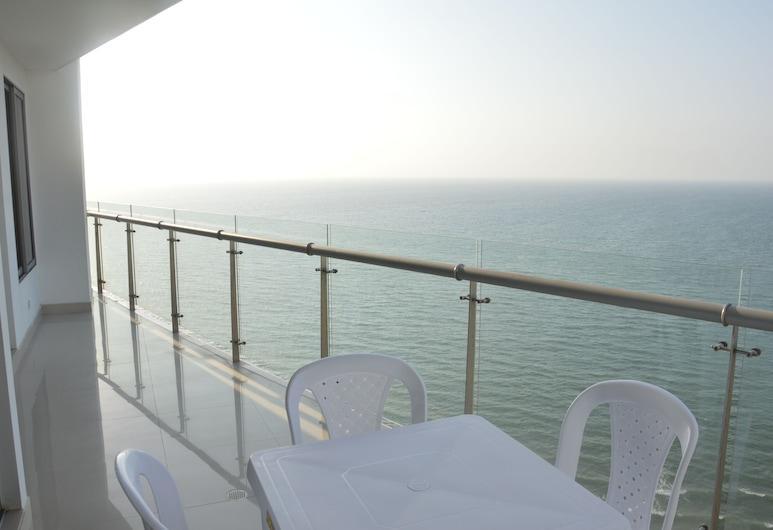 Apartamento vista al mar Marbella, Cartagena, Balcony