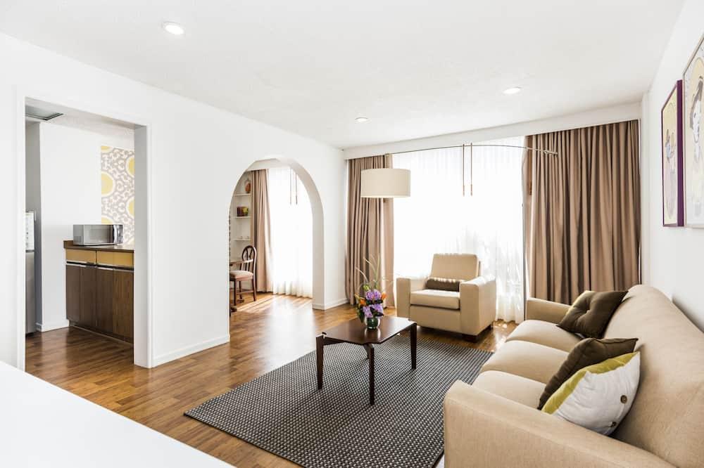 Studiové apartmá typu Premium - Obývací prostor