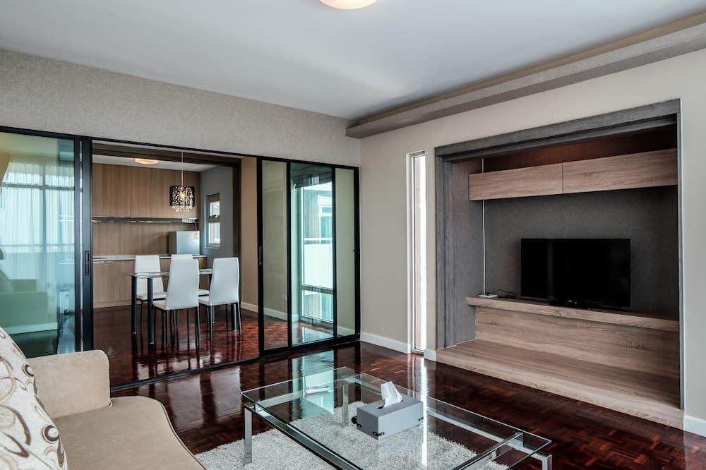 Single Room, 1 Bedroom - Living Area