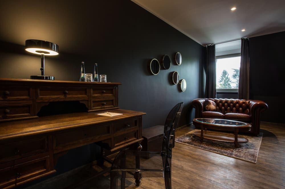 더블룸 - 거실 공간