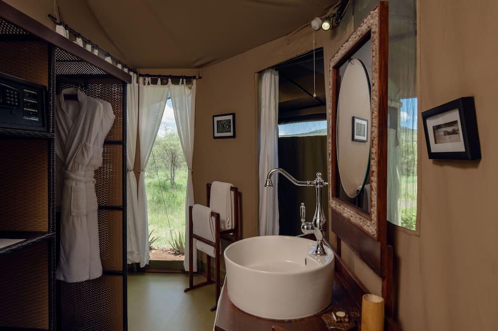 奢華帳棚 - 浴室