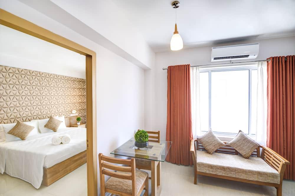 Apartament typu Superior Suite, Łóżko king, 2 łazienki - Powierzchnia mieszkalna