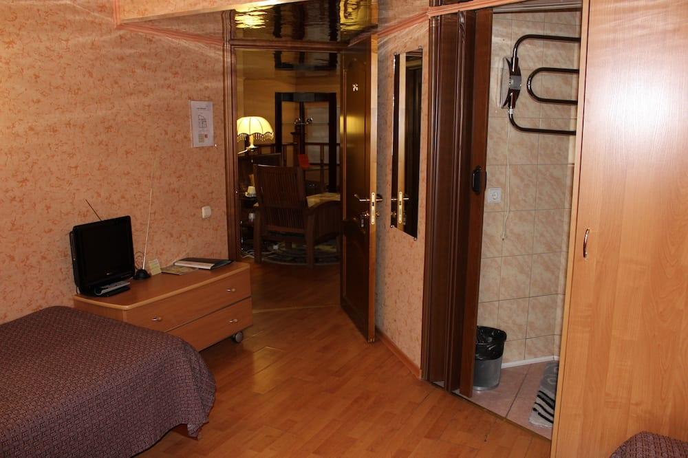 Dvojlôžková izba typu Economy (Shared Toilet) - Obývacie priestory