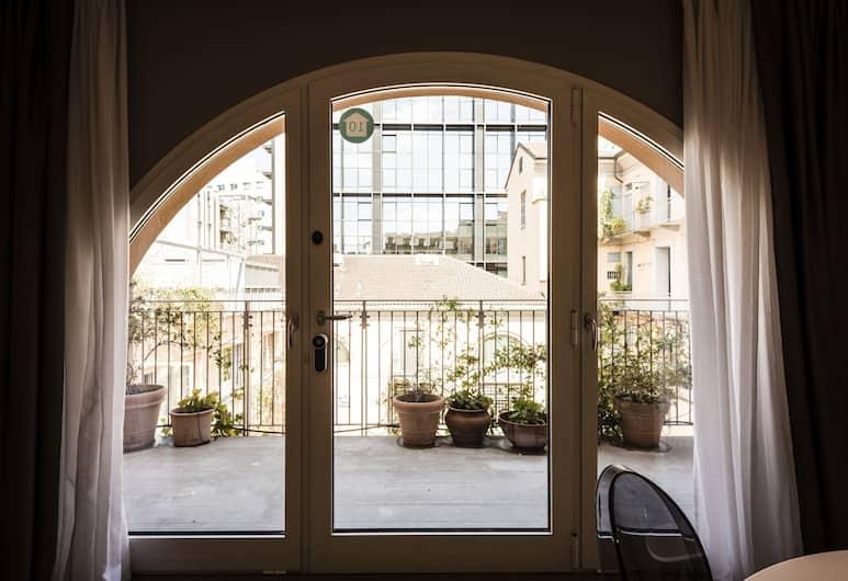 마이스위트플레이스 - 코르소 코모 아파트먼트, 밀라노, 디럭스 아파트, 침실 2개, 발코니