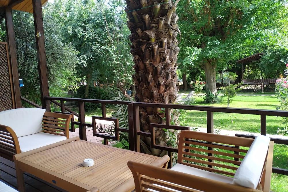 Trehus - Balkong