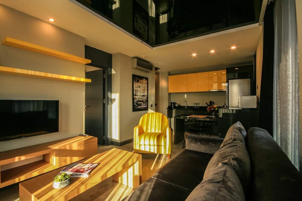 Deluxe Oda - Oturma Alanı