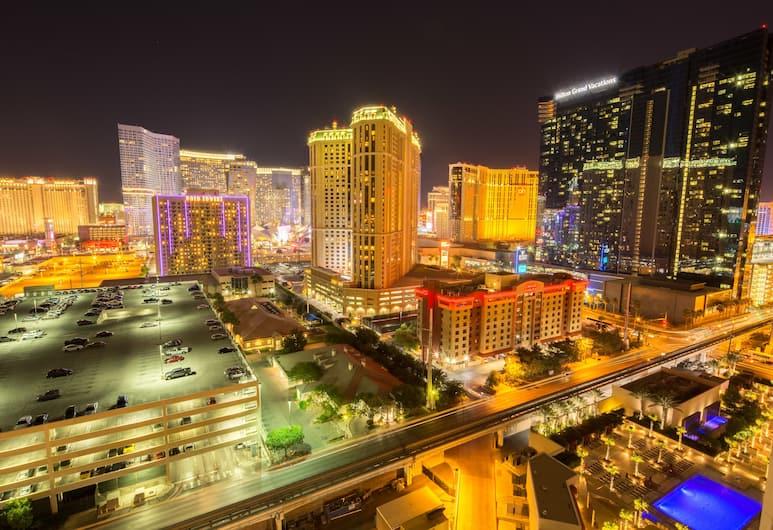 辛尼雀賭城大道美景奢華套房酒店, 拉斯維加斯, 從住宿看到的景觀