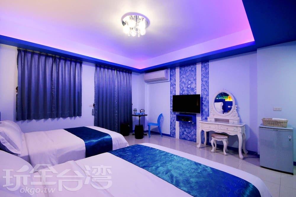 חדר סטנדרט לארבעה - חדר אורחים