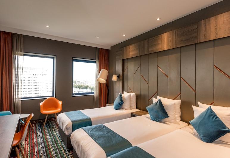 XO Hotels Couture, Amsterdam, Standard-Dreibettzimmer, 3Einzelbetten, Zimmer