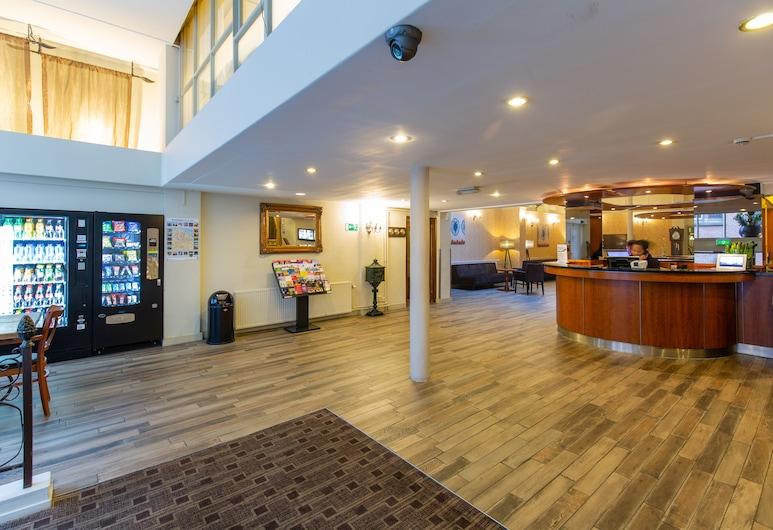 XO Hotels City Centre, Amsterdam, Recepcia