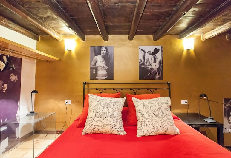Trevi Fountain Flat, Roma, Alloggio su due livelli, Camera