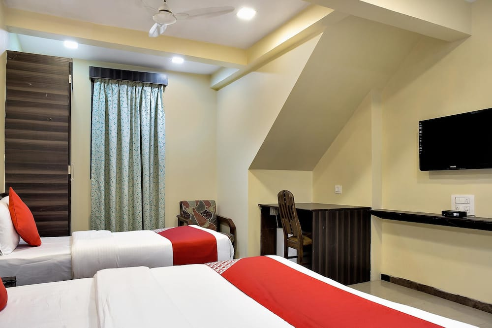 Deluxe-værelse med dobbeltseng eller 2 enkeltsenge - 1 queensize-seng - Værelse