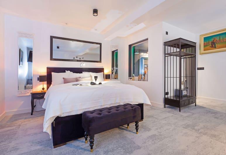 B&B Apartments & Studios Lanii, Dubrovnik, Dobbeltrom – deluxe, 1 kingsize-seng, Rom