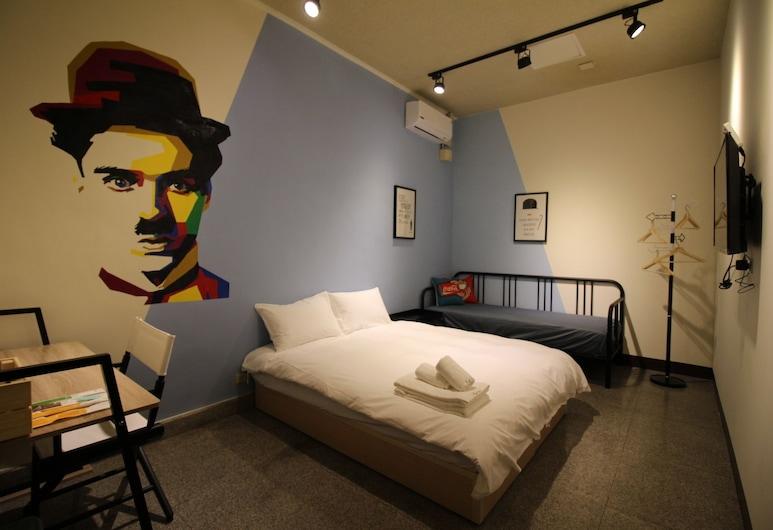 Movie Inn Hostel , Taichung, Double Room, Guest Room
