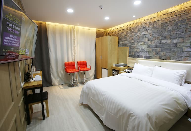 Incheon Diamond Hotel, Incheon, Kamar Double Deluks, Kamar Tamu