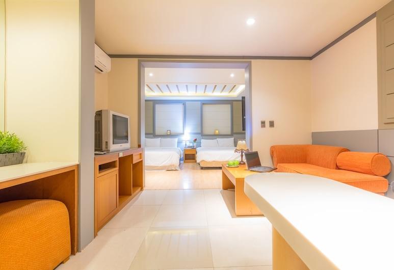 The Evelyn Dongdaemun Hotel, Soul, Suite Family, Obývacie priestory