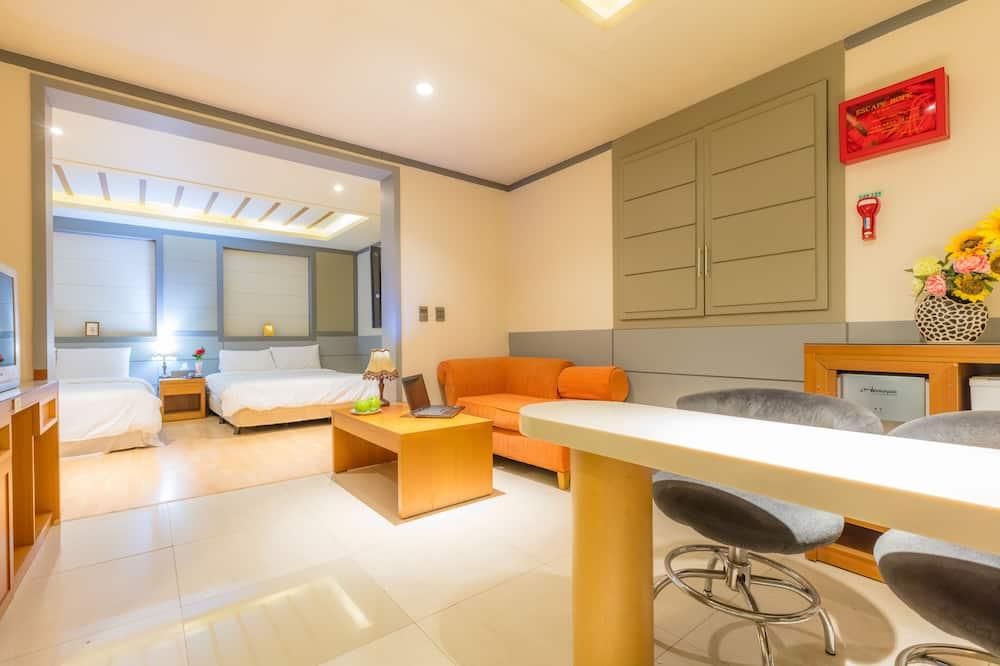 Suite Family - Obývací prostor