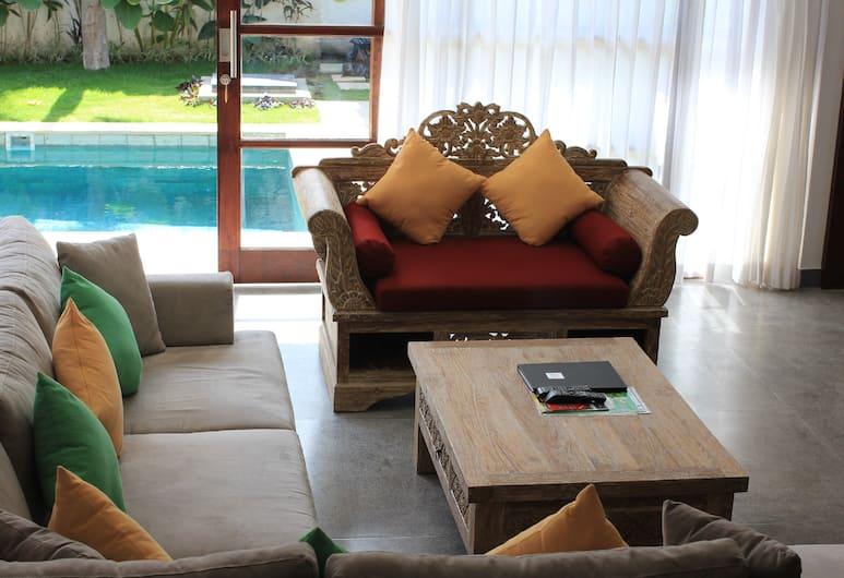 貝瓦別墅酒店, 水明漾, 高級別墅, 客廳