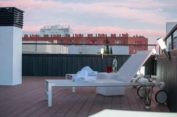 Barselona bölgesindeki Blue Apartments resmi