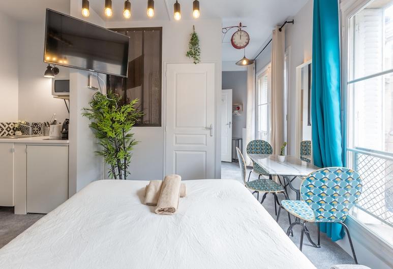 Apartments WS Louvre - Etienne Marcel, Parijs, Appartement, 1 slaapkamer (#302), Kamer