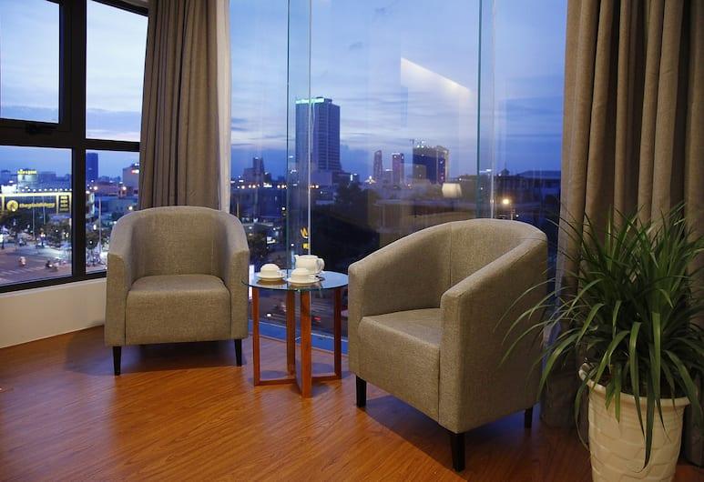 吉瑪公寓飯店, 峴港, 豪華雙人房, 1 間臥室, 城市景觀, 客房