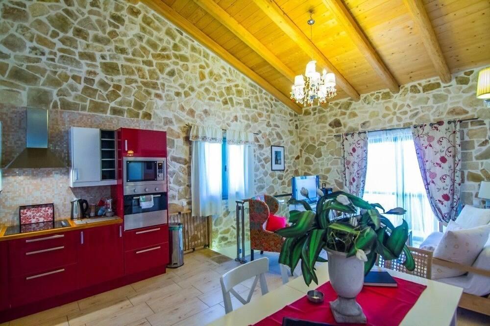 Vila, 3 spálne, súkromný bazén, výhľad na more - Obývacie priestory