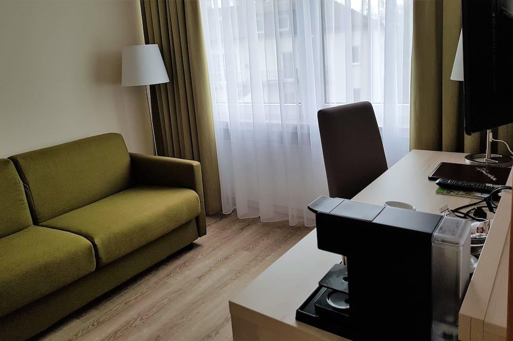 Suite, Bathtub - Living Area