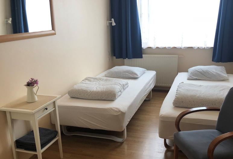 羅加瓦特青年旅舍, Bláskógabyggd, 標準雙床房, 共用浴室, 客房