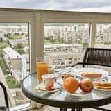Pokój dwuosobowy typu Panoramic, taras (Comfort) - Balkon