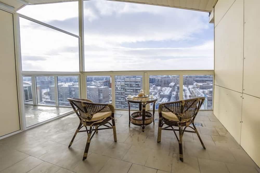 Pokój dwuosobowy typu Panoramic, taras (Plus) - Balkon