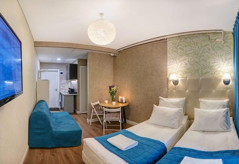 VARIANT M59, San Pietroburgo, Camera Standard con 2 letti singoli, 1 camera da letto, angolo cottura, Camera