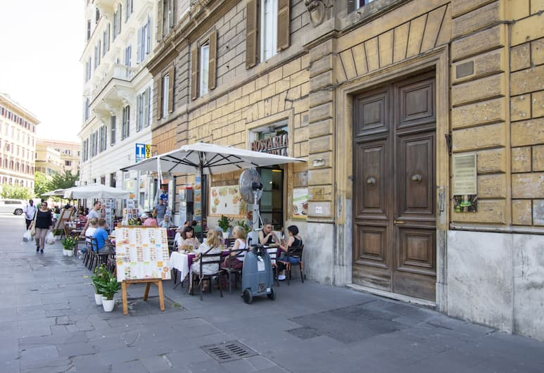 Cappuccino Guest House, Rome, Buitenkant