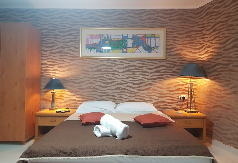 City Suites, Eilat, Studiové apartmá typu Basic, dvojlůžko, výhled do zahrady, Obývací pokoj