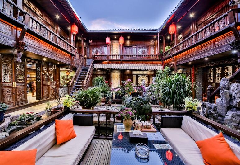 Lijiang He Mu Ju Family Inn, Lijiang, Overnatningsstedets område