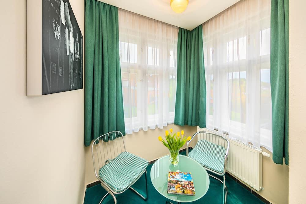 Executive-Doppelzimmer, Stadtblick - Wohnbereich