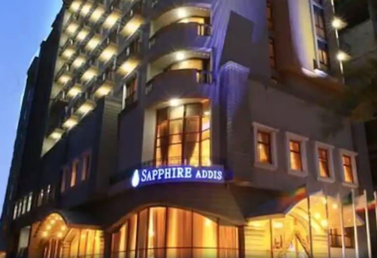 Sapphire Addis Hotel, Addis Ababa, Hadapan Hotel - Petang/Malam