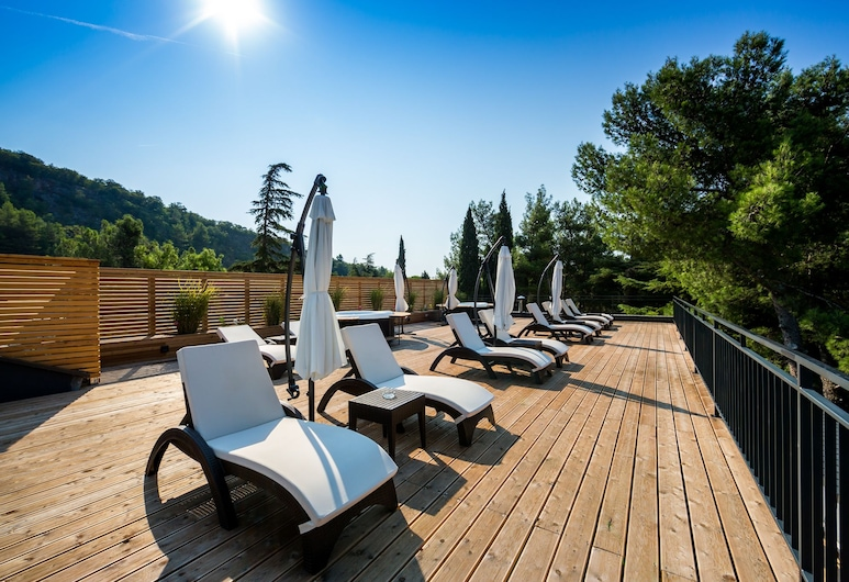 Preelook Apartments and Rooms, Rijeka, Terraza o patio